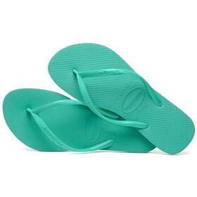 havaianas Slim Flips Women Mint Green/Mint Green
